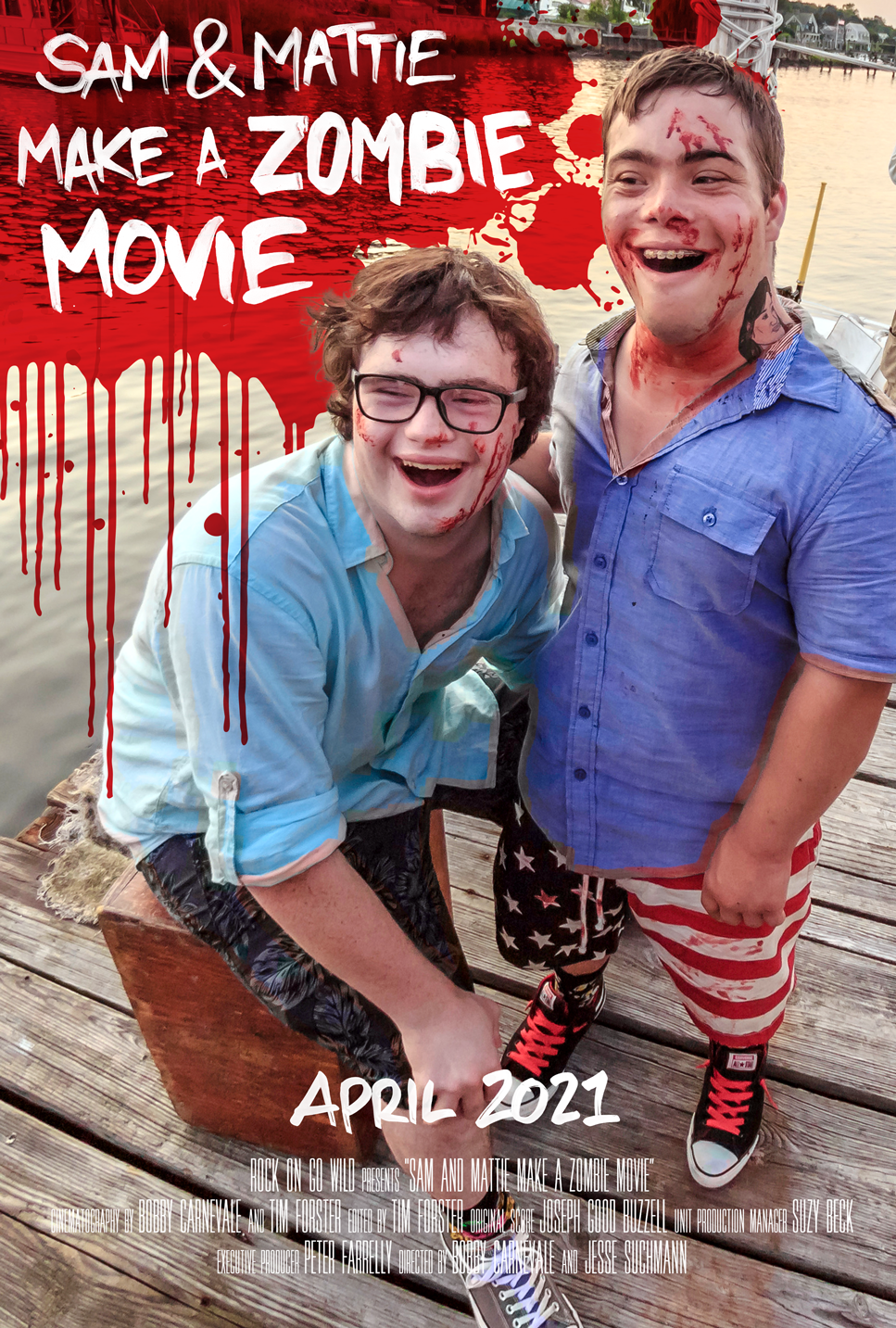 Inspiring Documentary SAM & MATTIE MAKE A ZOMBIE MOVIE Available Now on Cable VOD and Digital HD from Gravitas Ventures