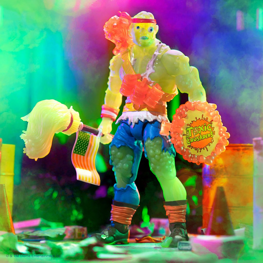 Super7 TOXIC CRUSADERS Ultimates! Radioactive Red Rage Toxie Figure Now Available for a Limited Time