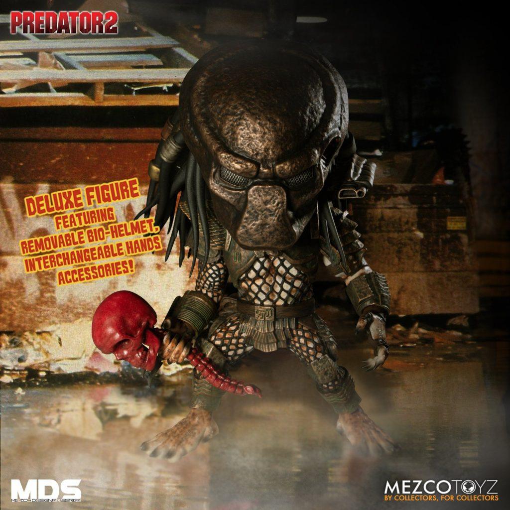 Mezco Toyz Presents MDS PREDATOR 2: Deluxe City Hunter
