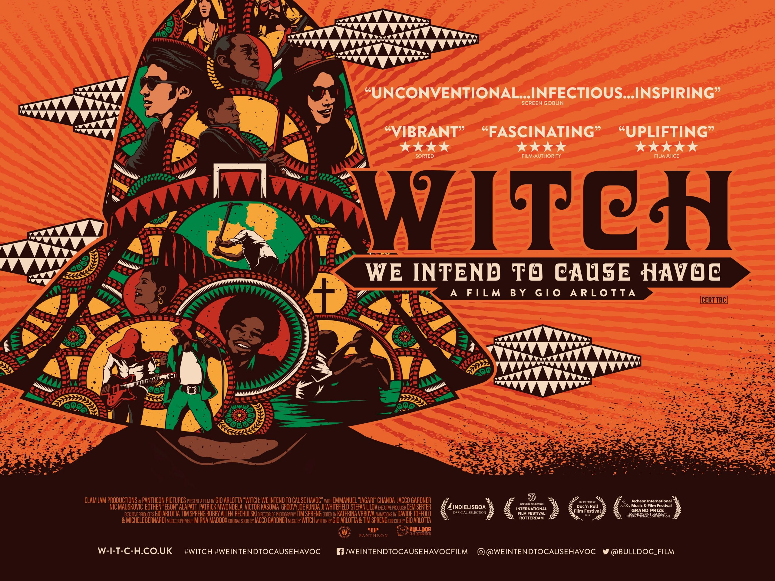 Bulldog Film Distribution Presents WITCH: WE INTEND TO CAUSE HAVOC in Select Cinemas and On Demand (UK / 2 July)