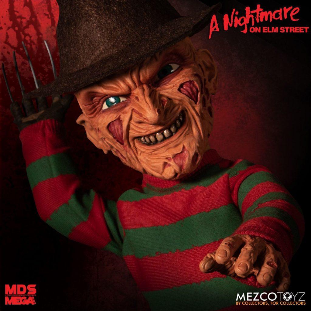 Mezco Designer Series Presents A NIGHTMARE ON ELM STREET Mega Scale Talking Freddy Krueger