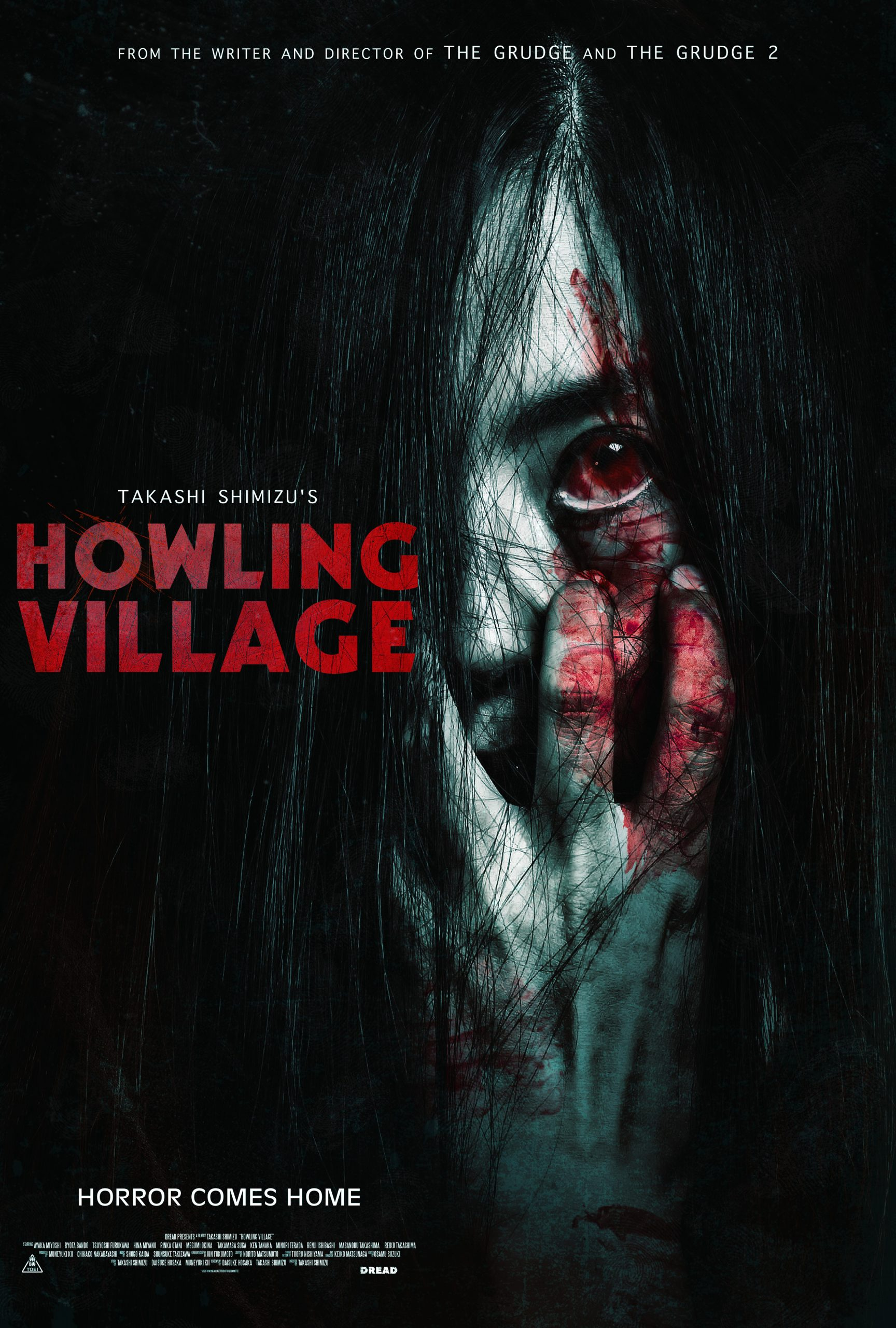 Dread's HOWLING VILLAGE In Select Theaters (13 August), On Demand (17 August) & Blu-Ray (USA, Canada / 14 September)