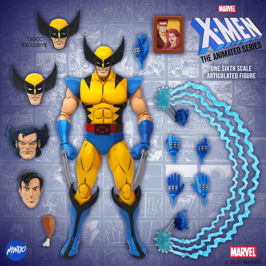 Mondo Announces X-MEN: THE ANIMATED SERIES 1/6 Wolverine Figure for Comic-Con@Home