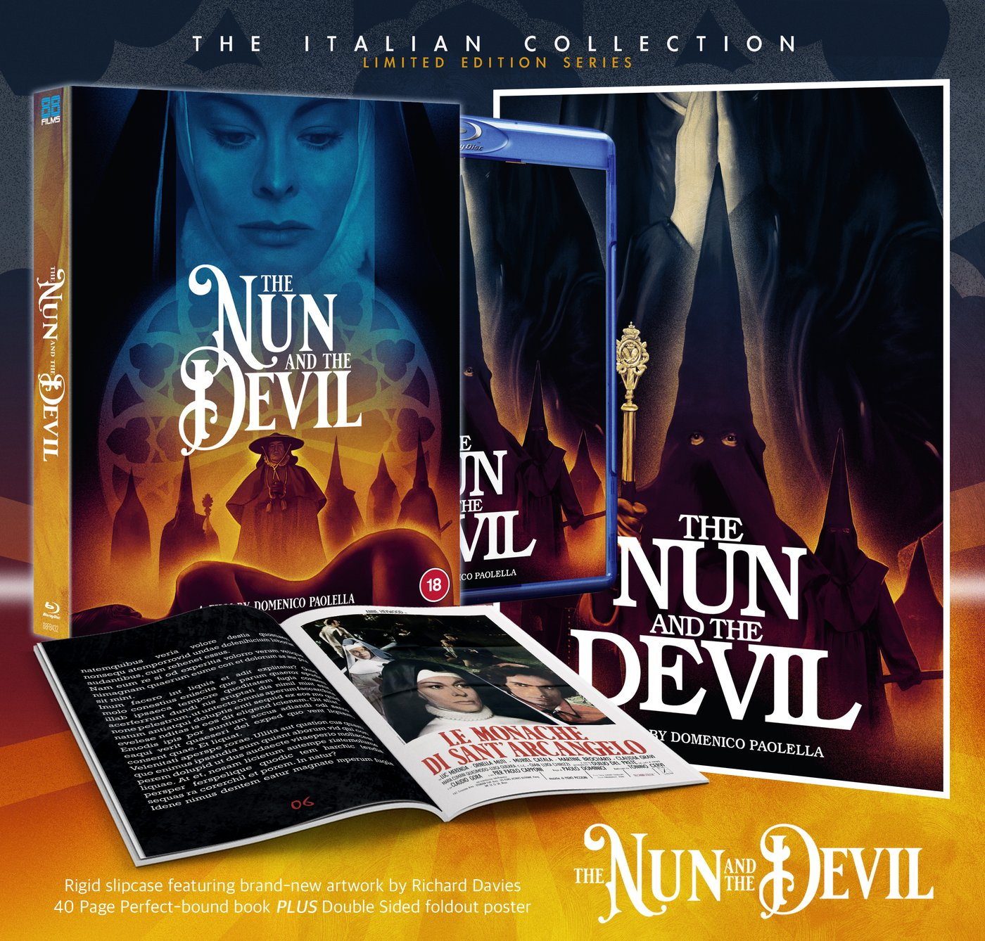 THE VIOLENT PROFESSIONALS & THE NUN AND THE DEVIL Available Now on Limited Edition Blu-ray from 88 Films
