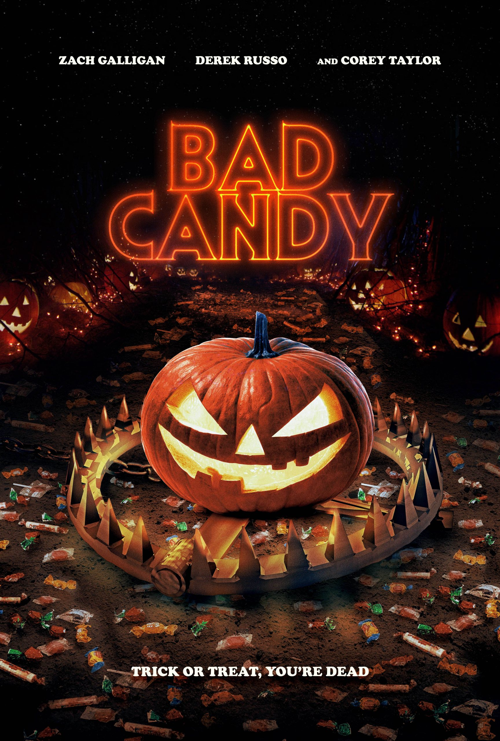 Dread's BAD CANDY In Select Theaters (10 September), On Demand (14 September) & Blu-Ray (USA, Canada / 12 October)