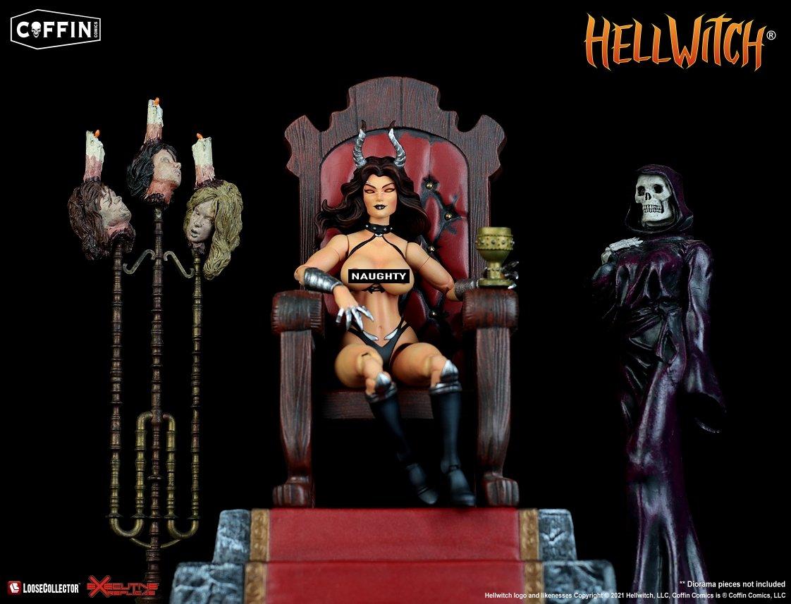 "Coffin Comics Presents HELLWITCH: Legacy 6"" Premium Action Figure"