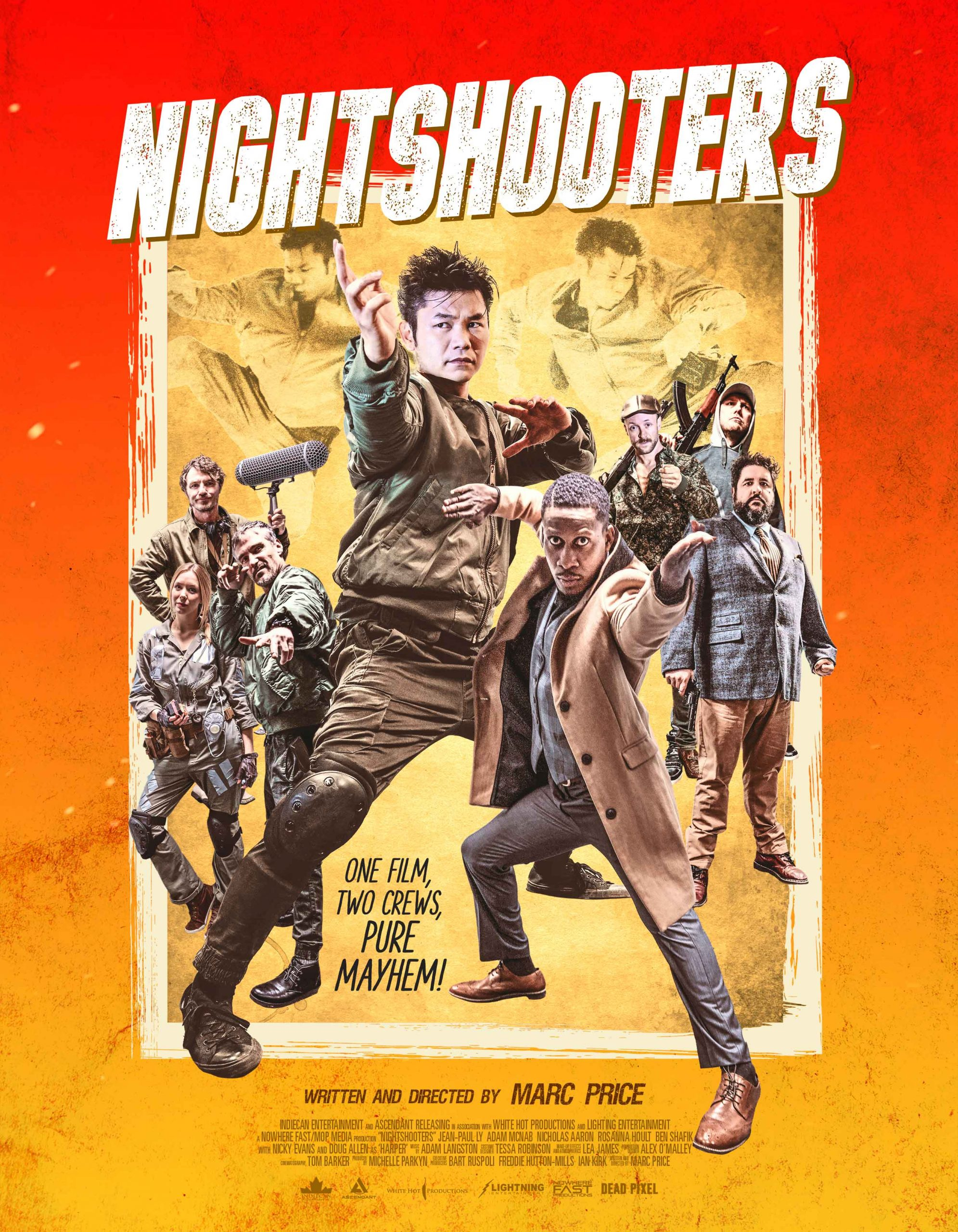 Gritty Filmmaking Becomes a Fight to the Death in NIGHTSHOOTERS Available on Digital HD & Cable VOD from Indiecan Entertainment (USA / 2 November)
