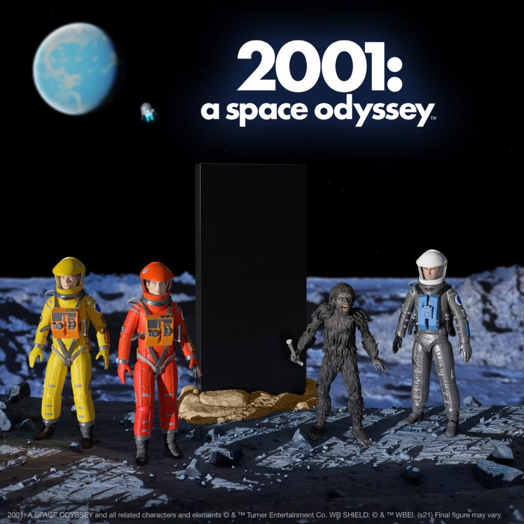 2001: A SPACE ODYSSEY Ultimates! Available Now from Super7